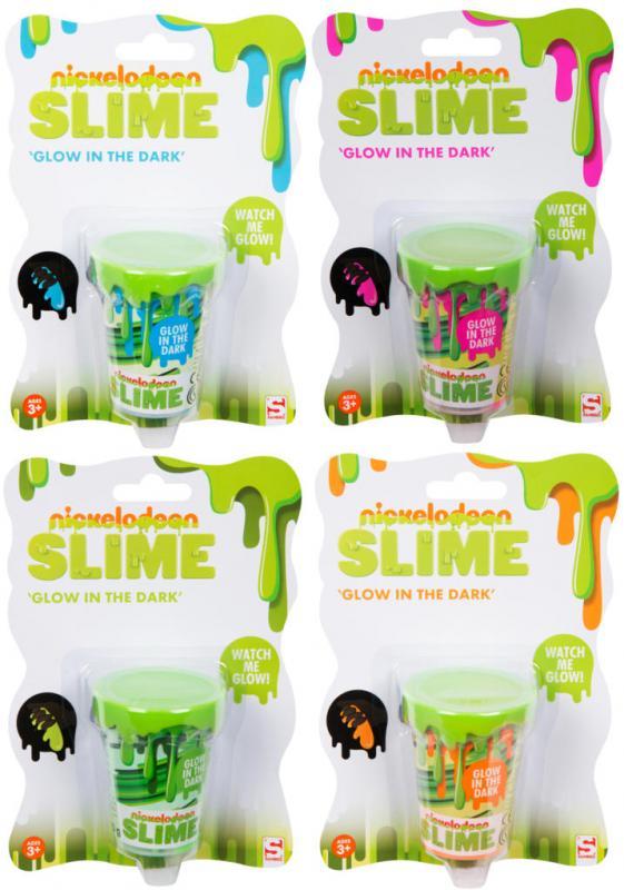 Nickelodeon sliz svítící ve tmě