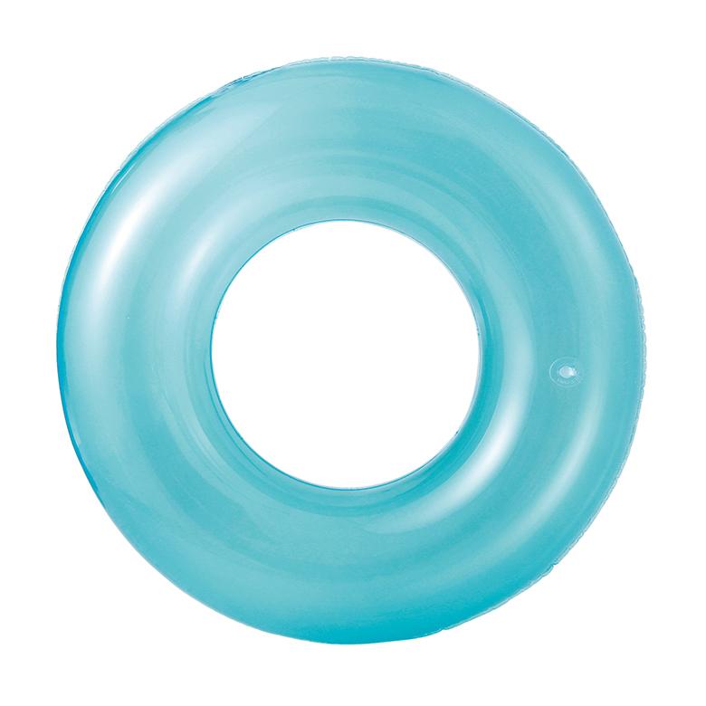 Mac Toys Nafukovací kruh transparentní