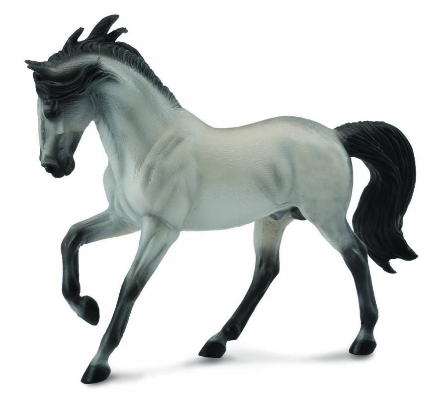 Levně Mac Toys Figurka Andaluský kůň šedivý