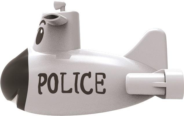 Mac Toys Ponorka POLICIE