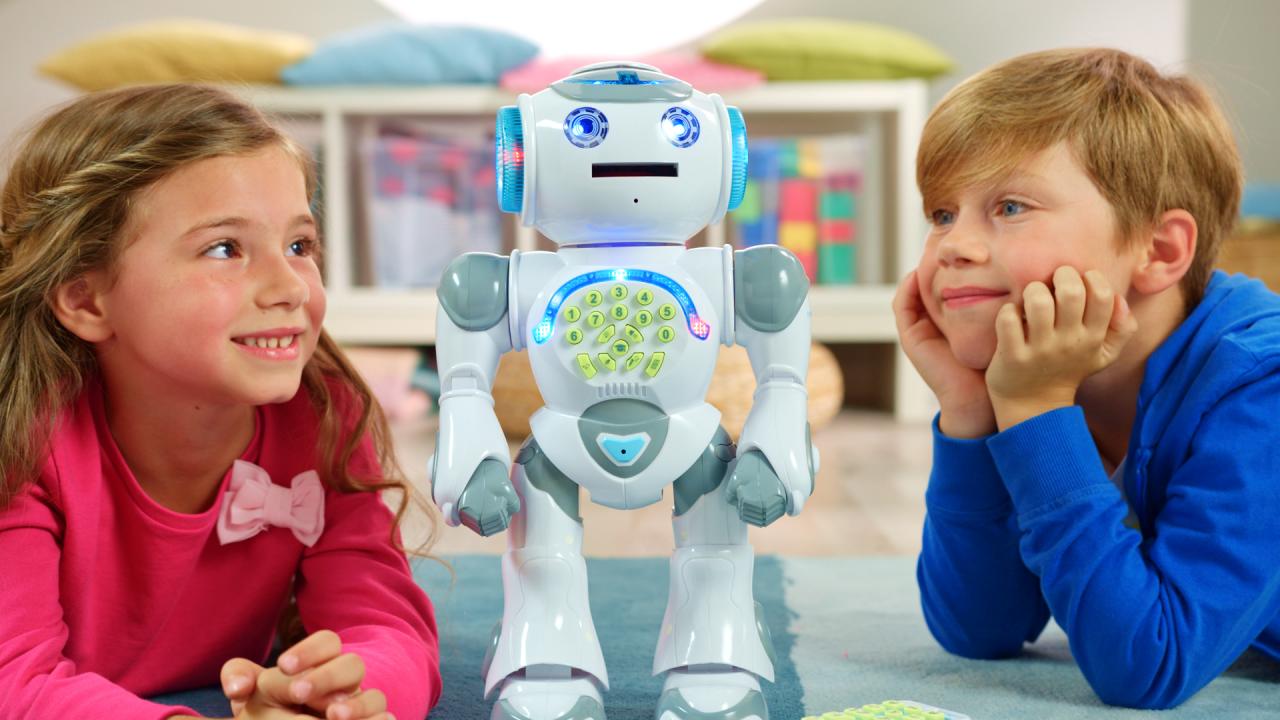 MAC TOYS Robot na ovládání Powerman CZ