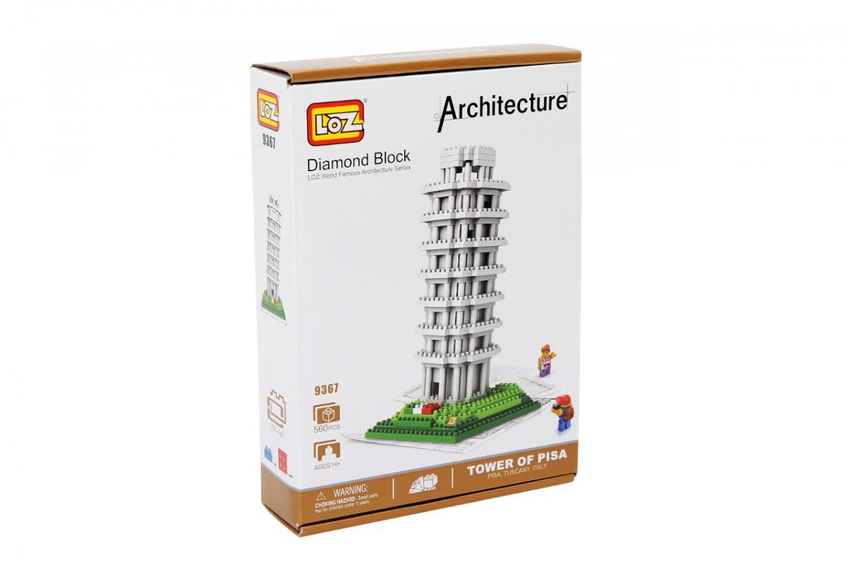 Mac Toys Stavebnice Šikmá věž v Pise