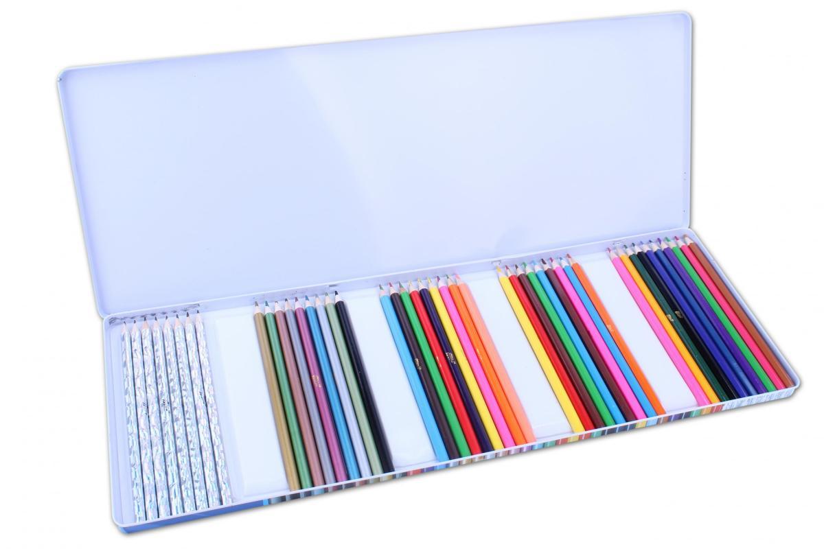 Mac Toys Pastelky v kovové krabičce