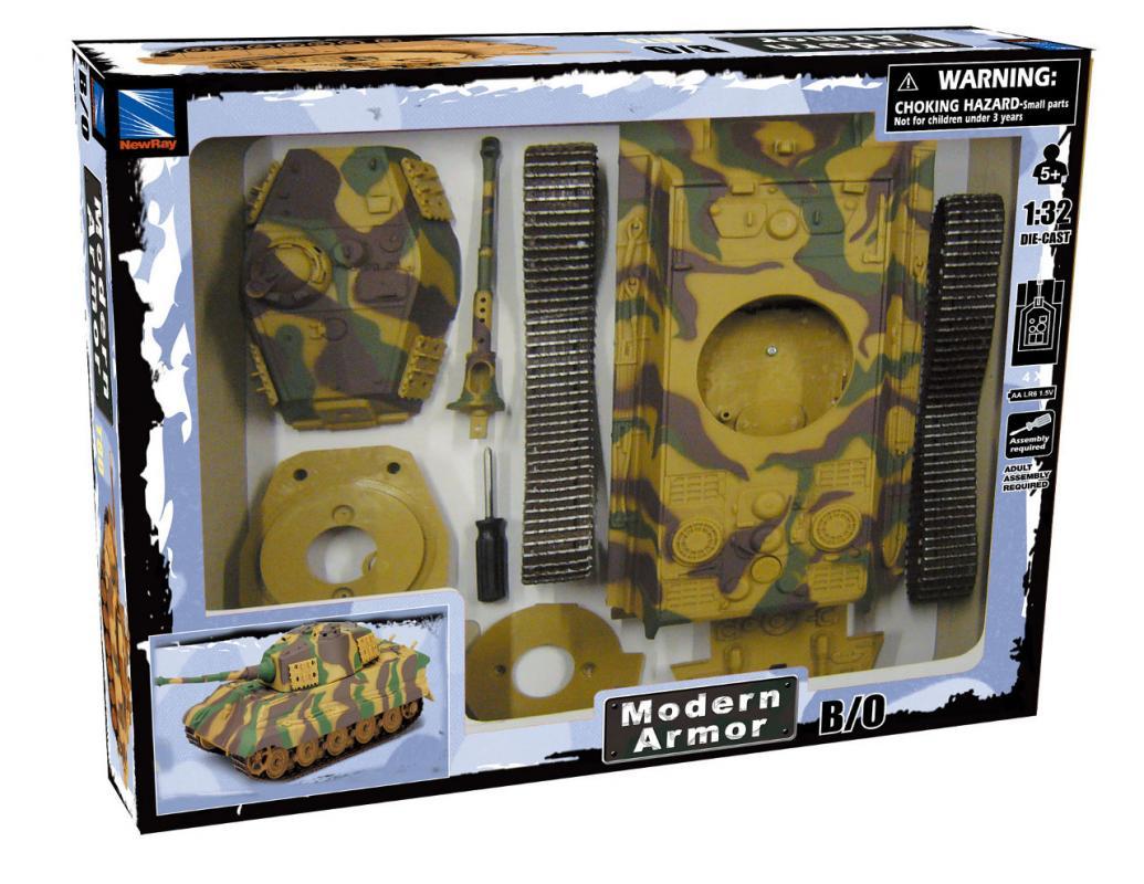 Mac Toys Model KIT Tank T-80
