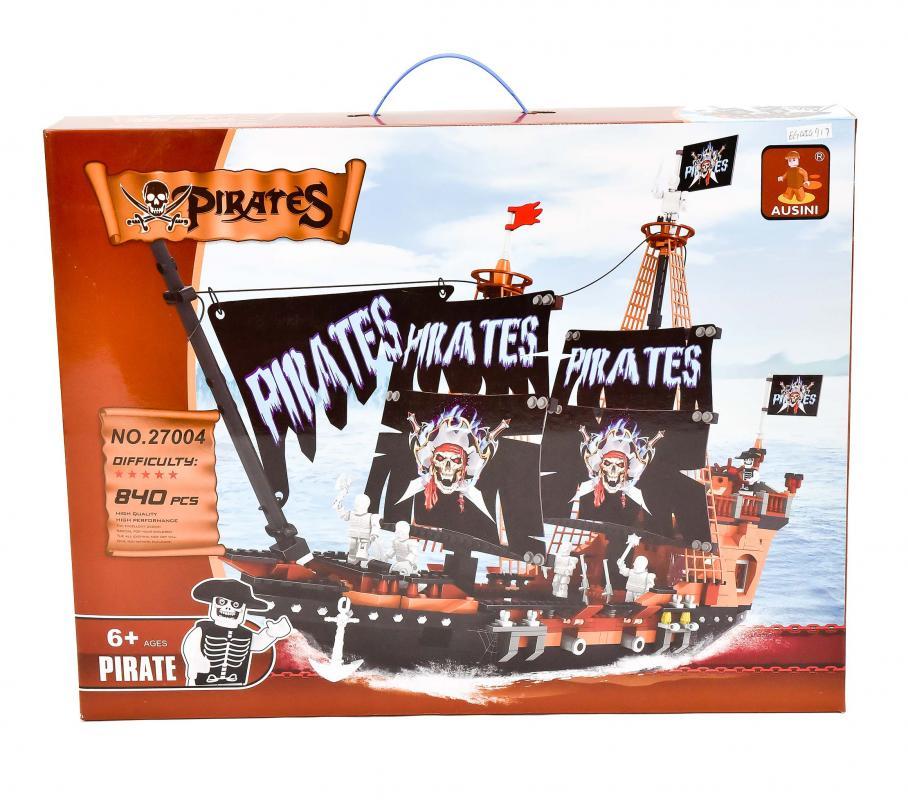 MAC TOYS Stavebnice pirátská loď