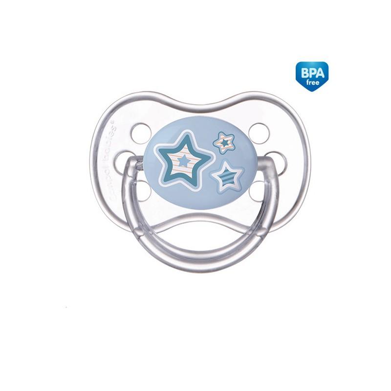 CANPOL BABIES Dudlík silikonový třešinka 6-18m NEWBORN BABY