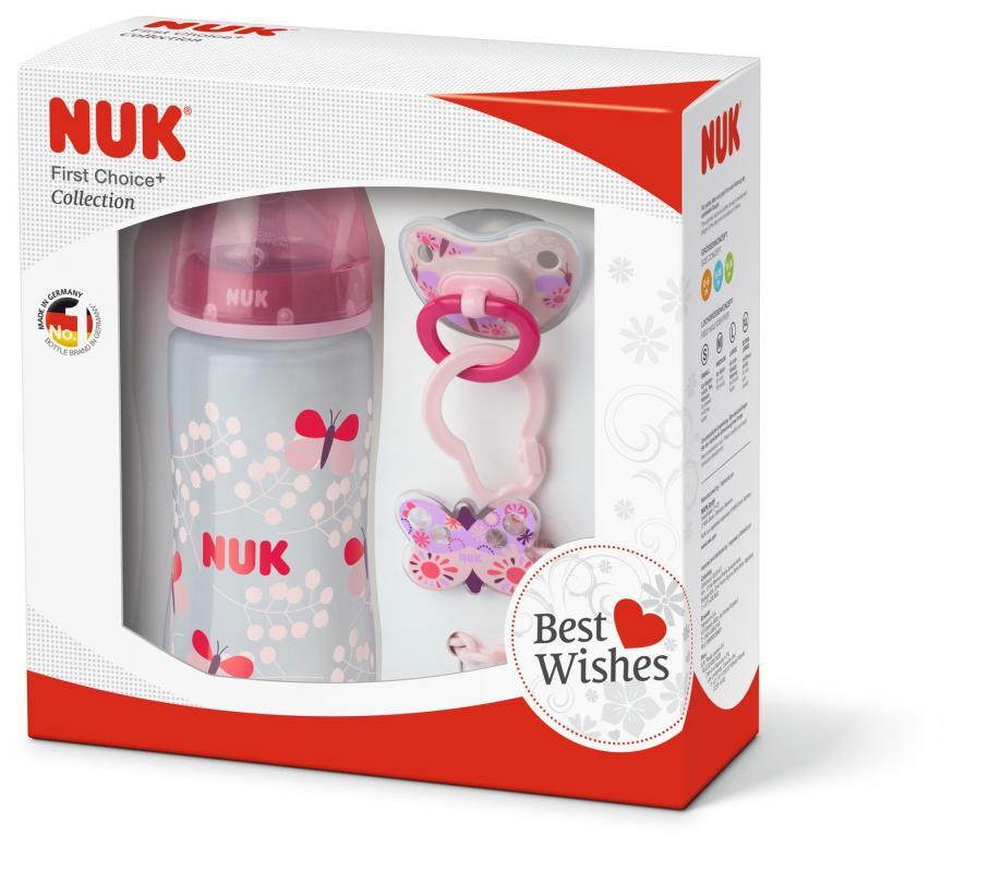 Nuk FC+ Set růžový