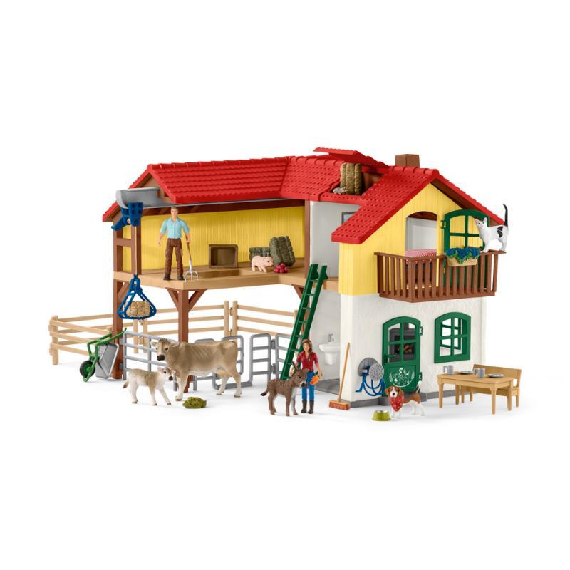 Schleich Velký dům na farmě