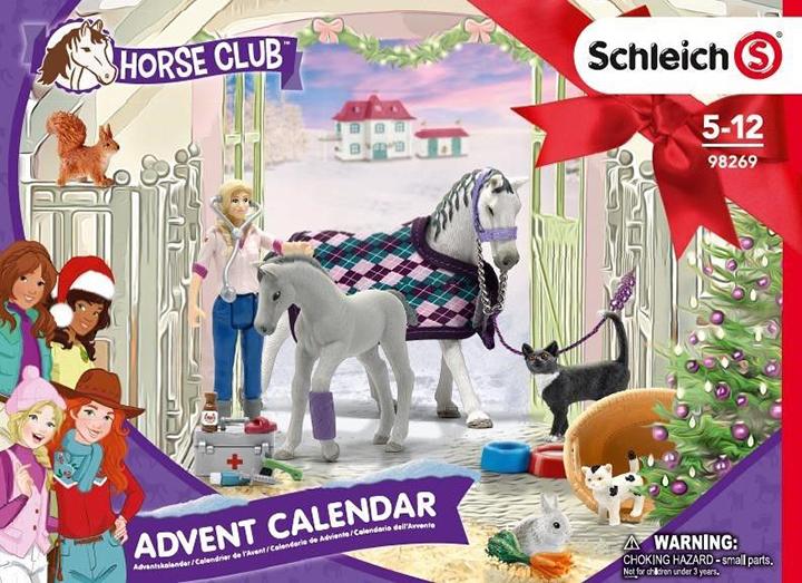 Adventní kalendář Schleich 2020 - Koně