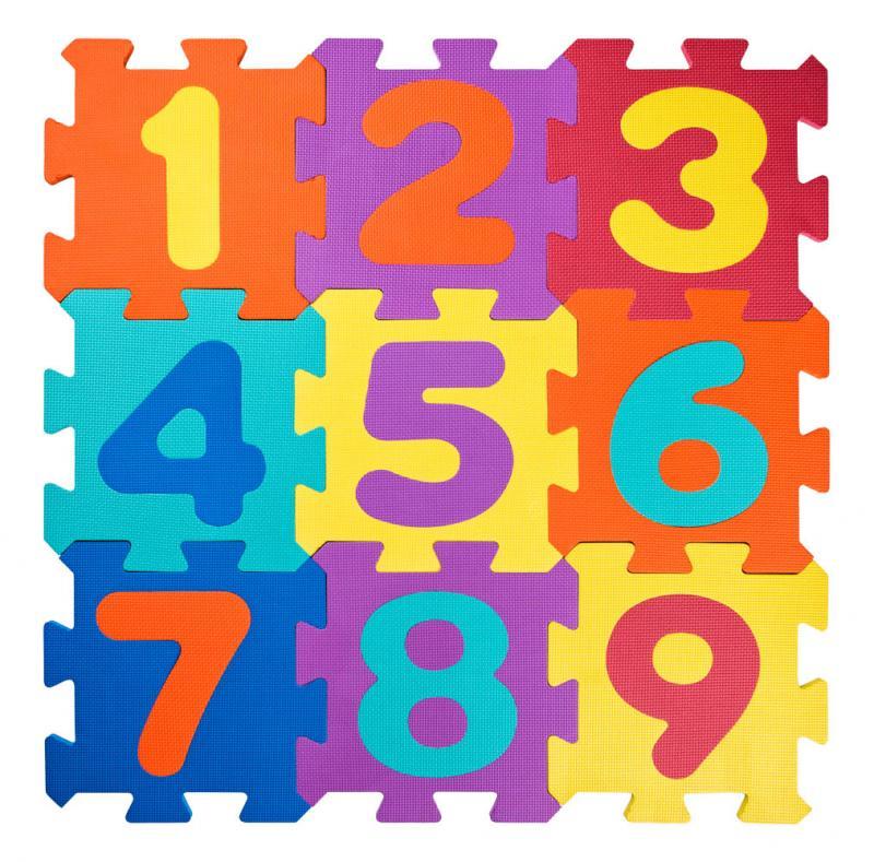 Pěnové Puzzle Čísla