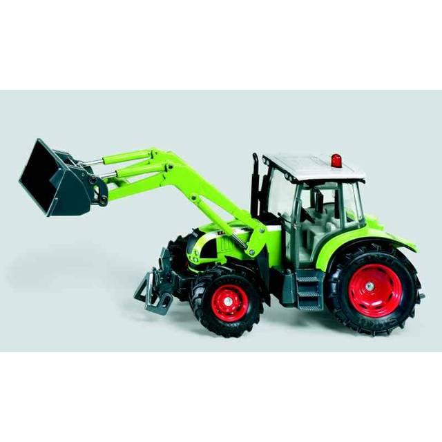 SIKU Farmer - Traktor Claas s čelním nakladačem, měřítko 1:32