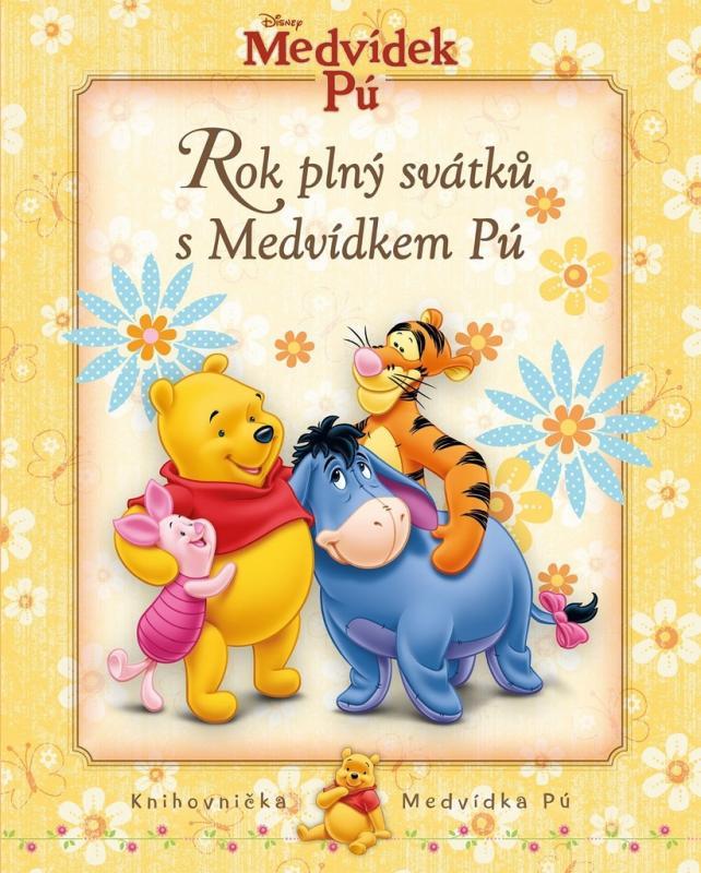 Pemic Chytrá kniha otázek a odpovědí Medvídek Pú Rok plný svátků s Medvídkem Pú