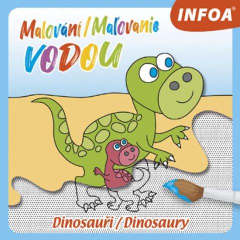 PEMIC Malování vodou Dinosauři
