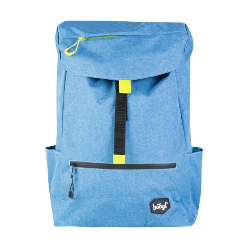 Baagl Studentský batoh Blue