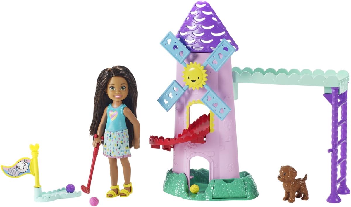 Mattel Barbie Chelsea minigolf Herní set - poškozený obal