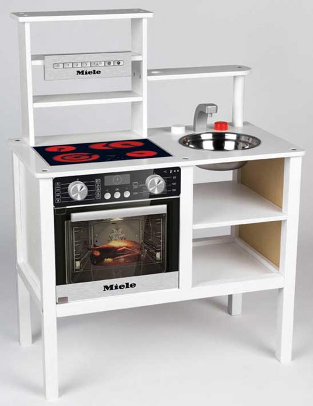 KLEIN 239458 Kuchyňka Miele dřevěná - střední - poškozený obal