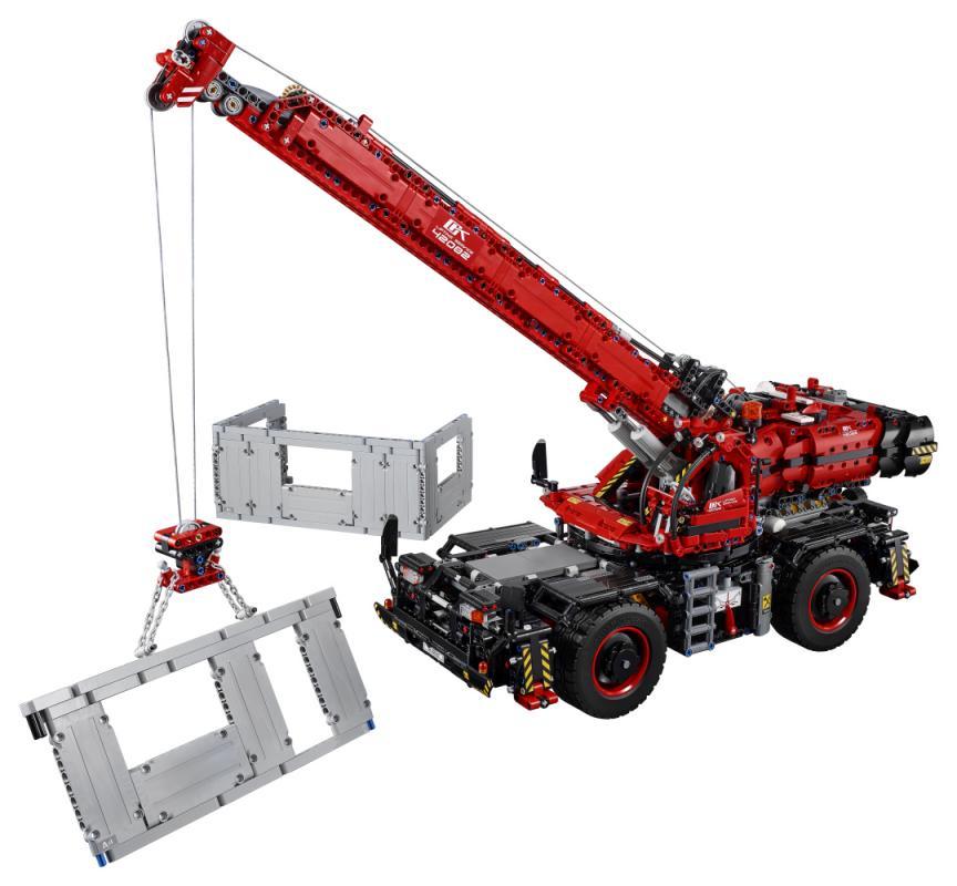 LEGO TECHNIC 2242082 Terénní jeřáb - poškozený obal