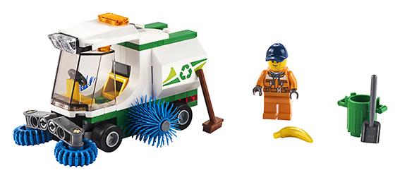 LEGO CITY 2260249 Čistící vůz - poškozený obal