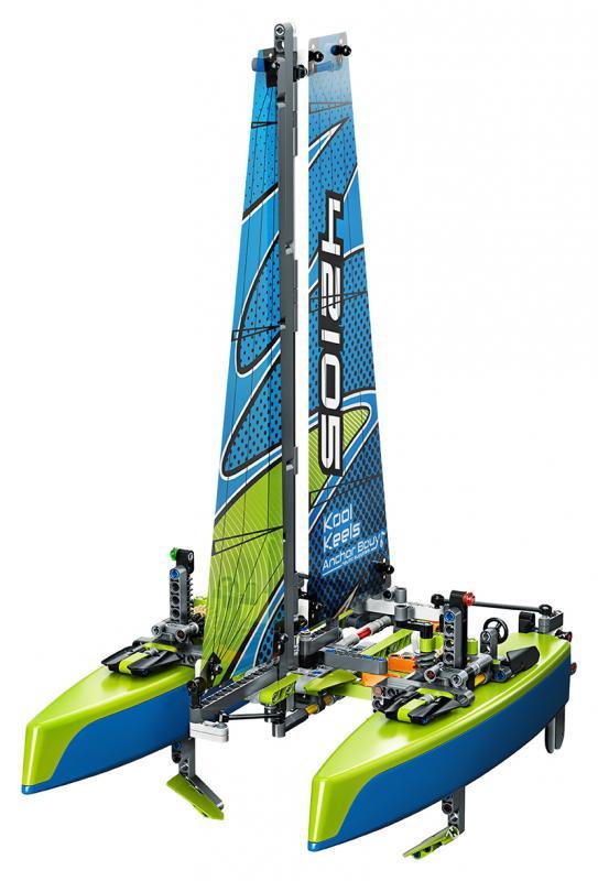 LEGO TECHNIC 2242105 Katamarán - poškozený obal