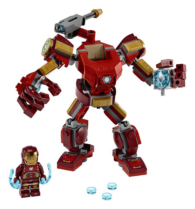 LEGO SUPER HEROES 2276140 Iron Manův robot - poškozený obal