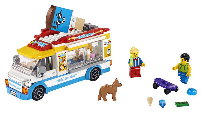 LEGO CITY 2260253 Zmrzlinářské auto - poškozený obal