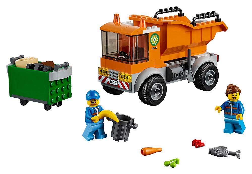 LEGO CITY 2260220 Popelářské auto - poškozený obal
