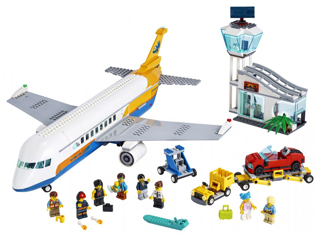 LEGO CITY 2260262 Osobní letadlo - poškozený obal