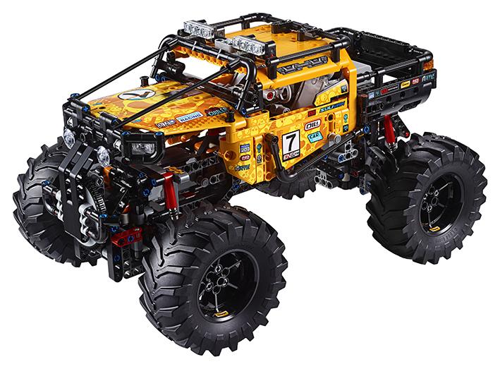 Lego RC Extrémní teréňák 4x4 - poškozený obal