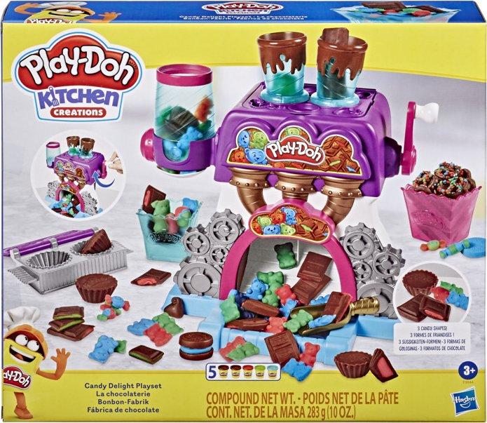 HASBRO 14E9844 Play-Doh Továrna na čokoládu - poškozený obal