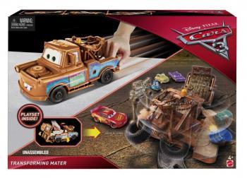 MATTEL 25FCW03 CARS 3 TRANSFORMUJÍCÍ SE AUTA - poškozený obal