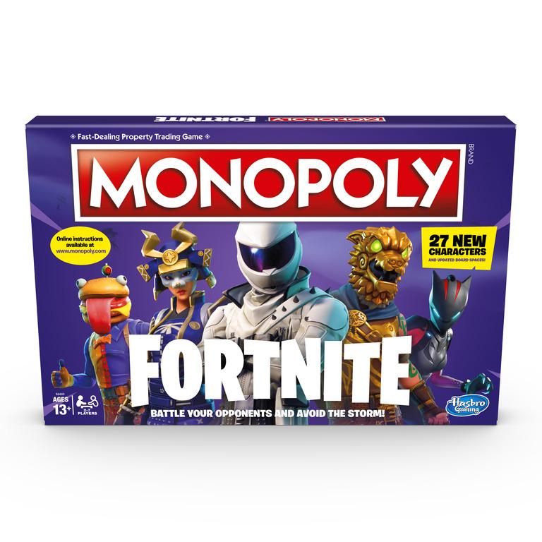 HASBRO 14E6603 Monopoly Fortnite - poškozený obal