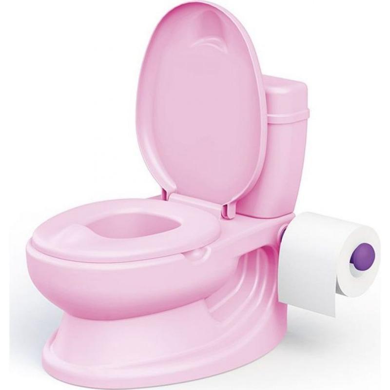 DOLU OL 10877252 Dětská toaleta, růžová - poškozený obal