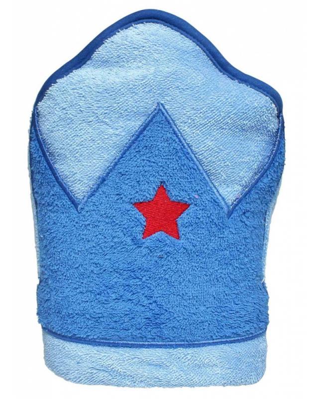 Playgro - Dětská osuška s kapucí modrá
