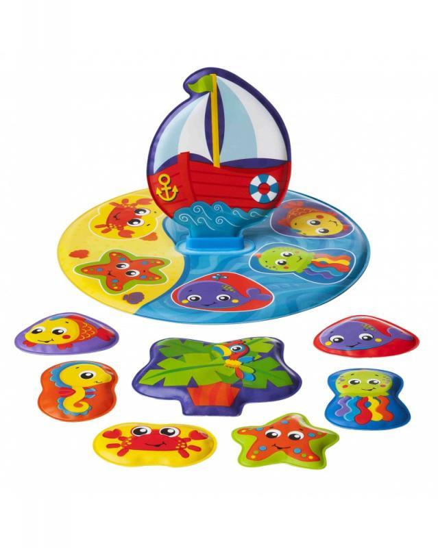 Levně Playgro - Plovoucí puzzle do vany