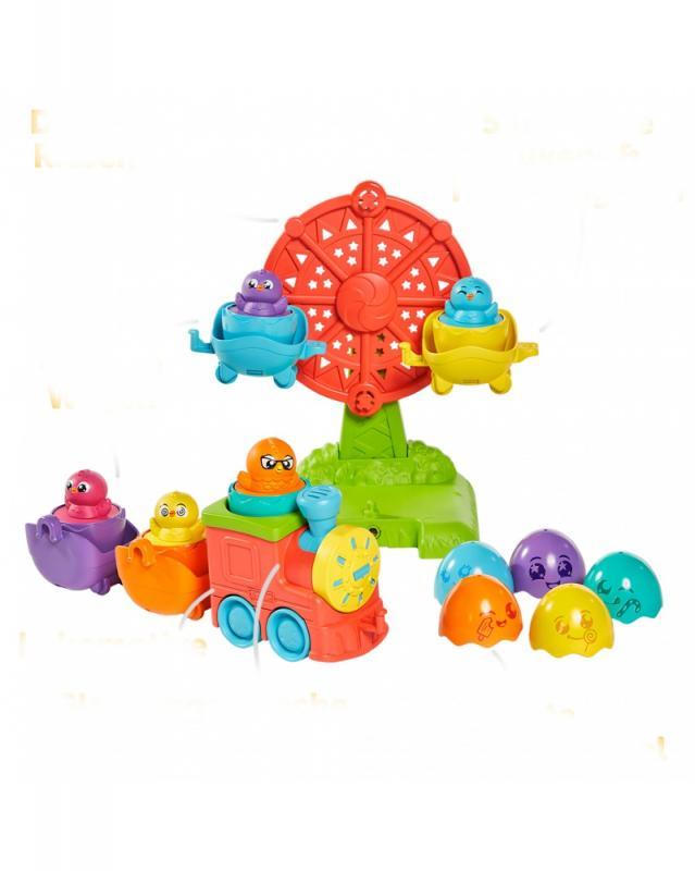 TOOMIES - Zábavný vláček s vajíčky
