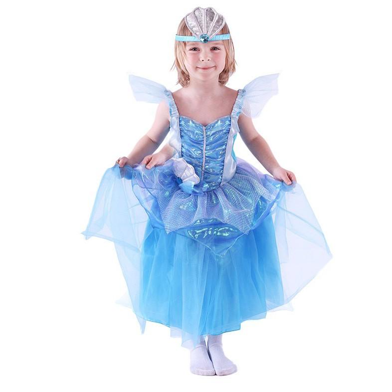 RAPPA Dětský kostým Mořská princezna (S)