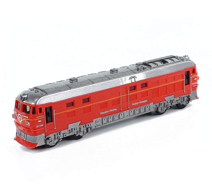lokomotiva plastová se zvukem a světlem 3 druhy