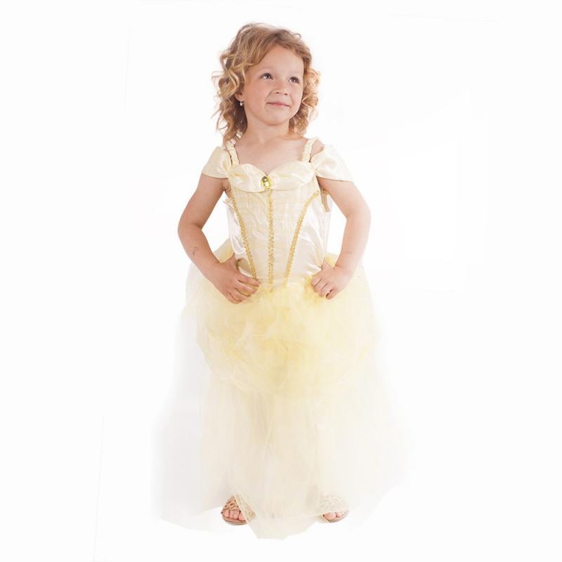 RAPPA Dětský kostým Zlatá princezna (L)