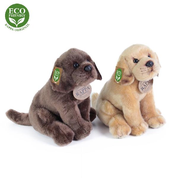 Rappa Plyšový pes labrador sedící 2 dr., 20 cm