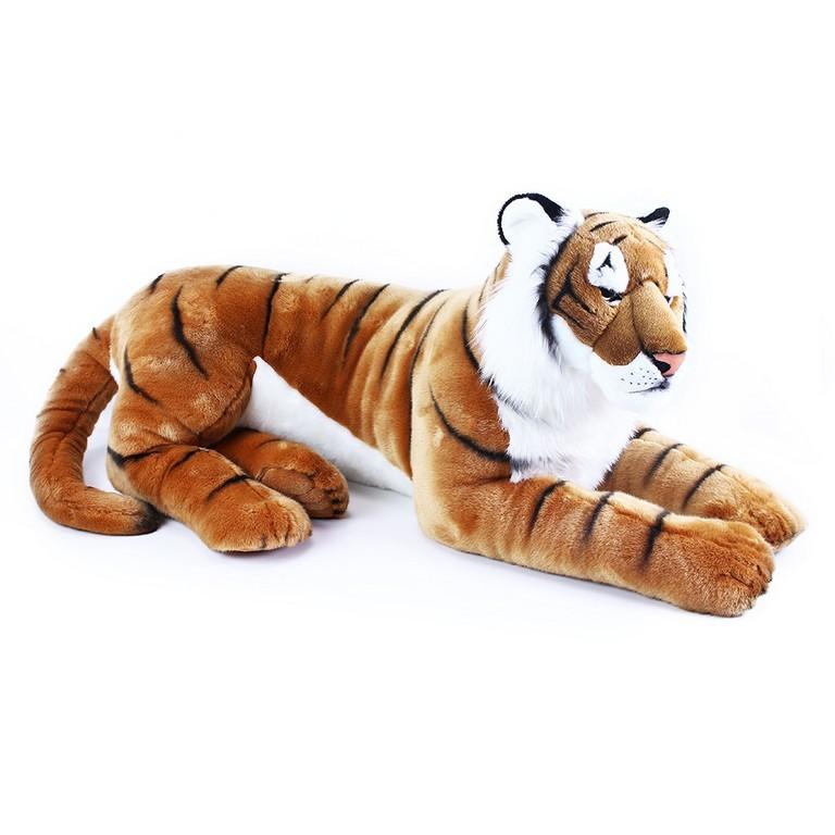 Rappa Velký plyšový tygr ležící, 92 cm