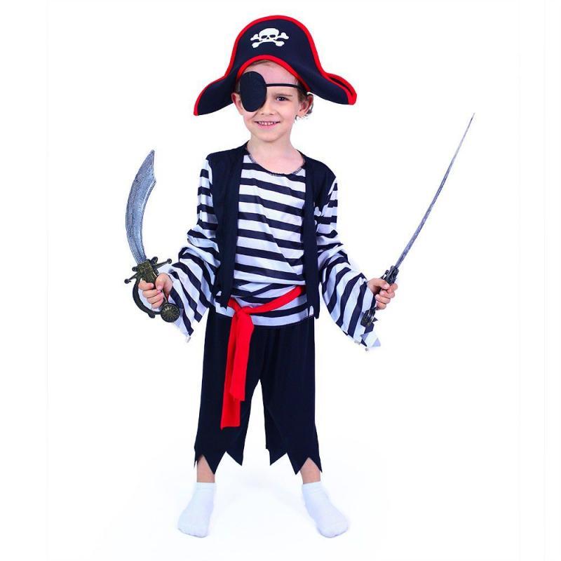 RAPPA Dětský kostým pirát (M)