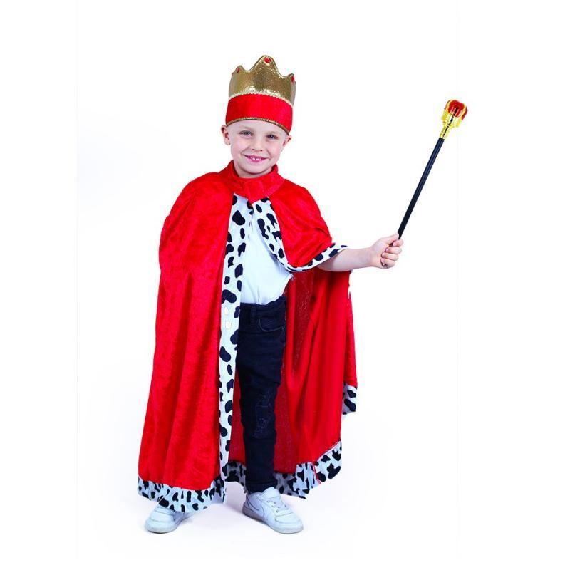 RAPPA Dětský kostým královský plášť