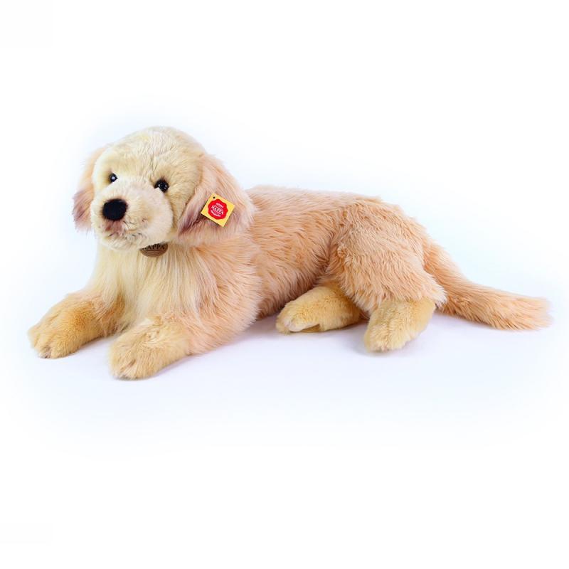 Rappa Velký plyšový pes zlatý retrívr, 53 cm