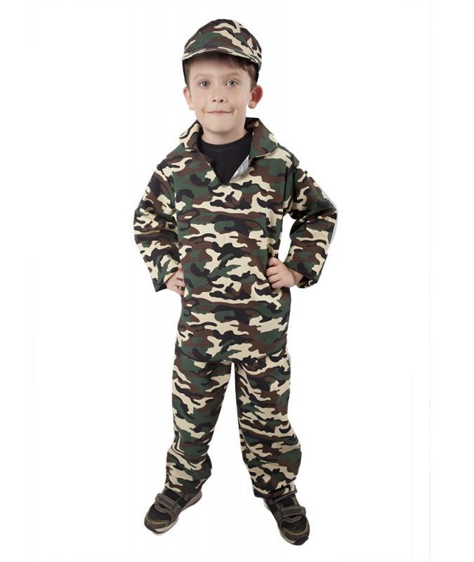65cda9bb7 kostým ARMY - vojak, detský, veľ. M