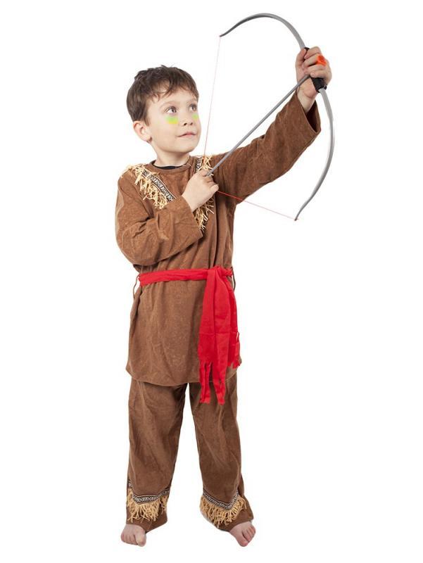 Rappa Karnevalový kostým indián, dětský, vel. M