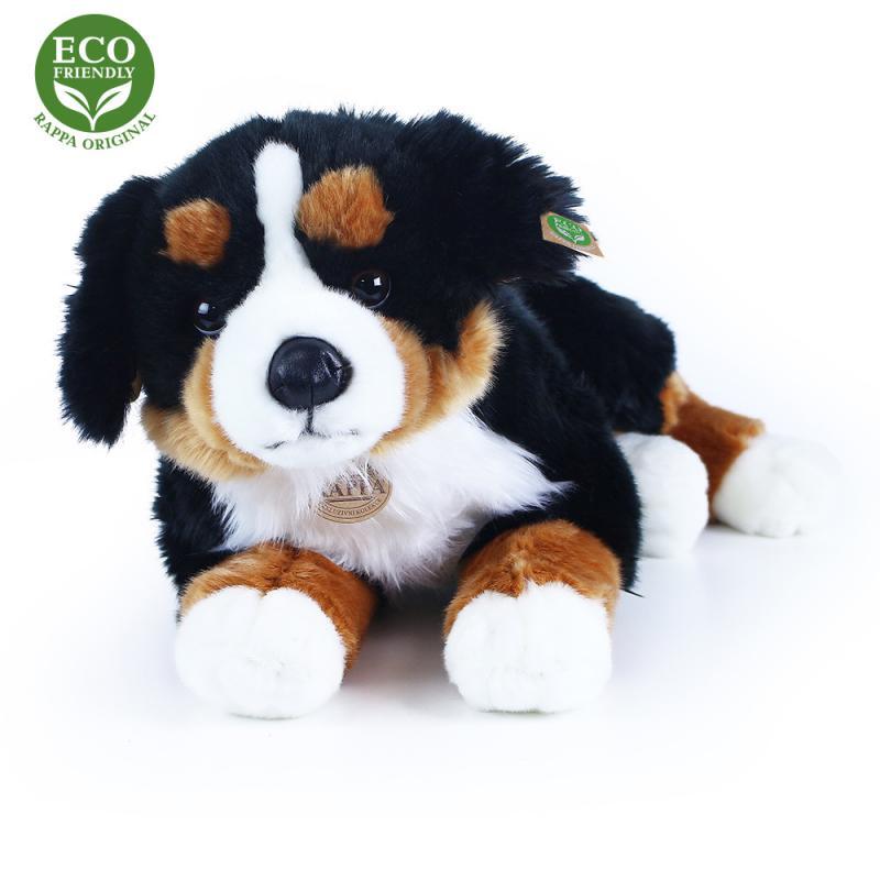 RAPPA Velký plyšový pes salašnický ležící, 61 cm