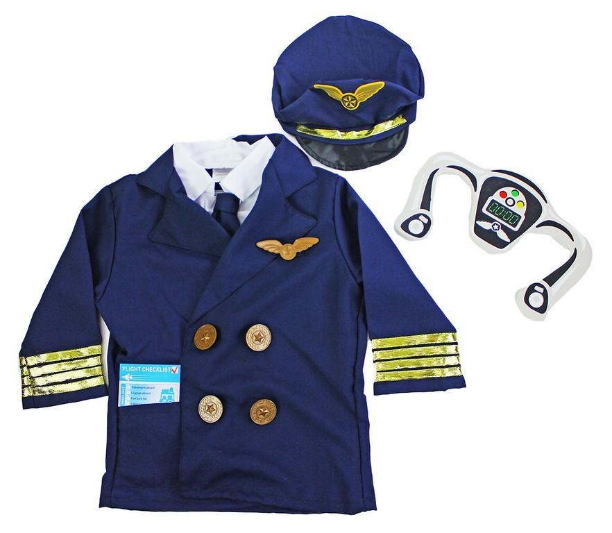 Rappa Dětský kostým Pilot (S)