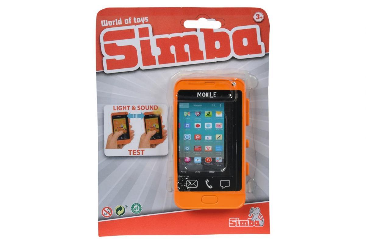 Simba Mobilní telefon s dotykovým displejem, 2 druhy