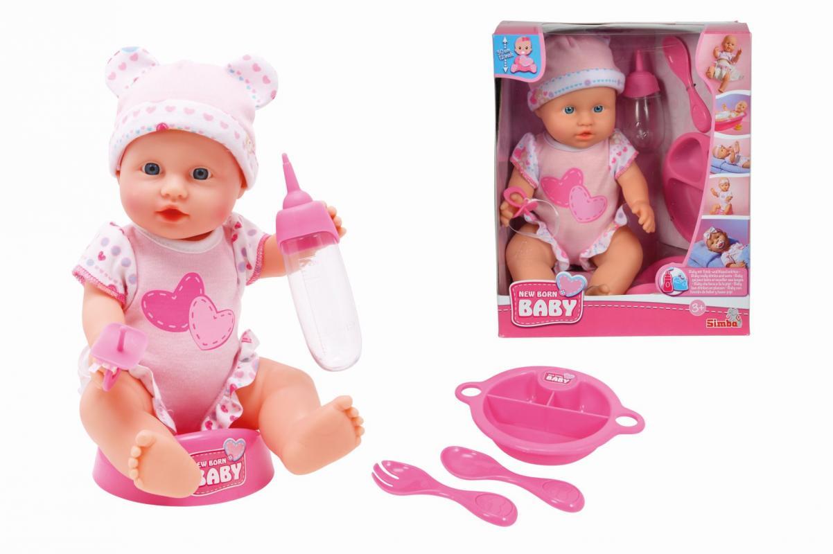 Simba New Born Baby Panenka Baby Care 30 cm