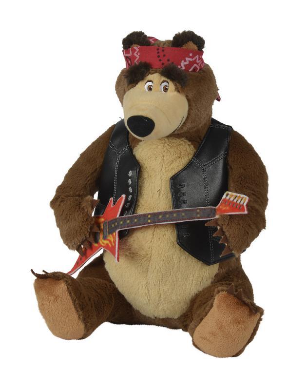 Simba Máša a medvěd Medvěd Míša rocker 30 cm, hrající